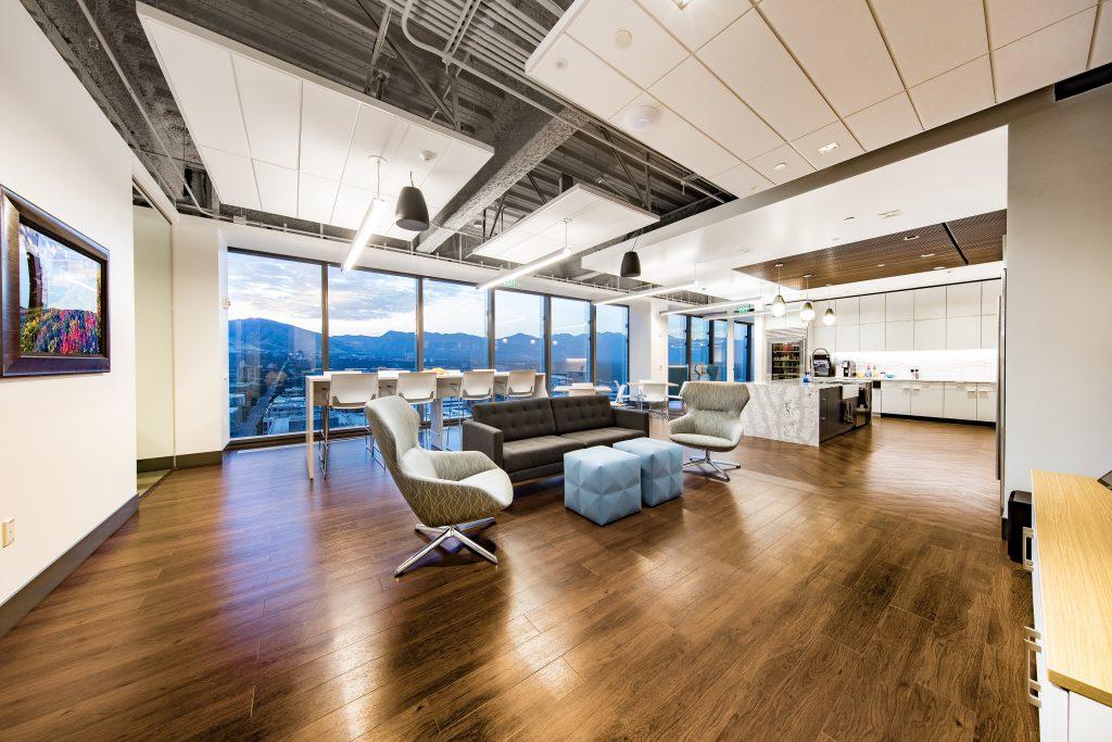 Break Room in Bonneville's Salt Lake City Headquarters