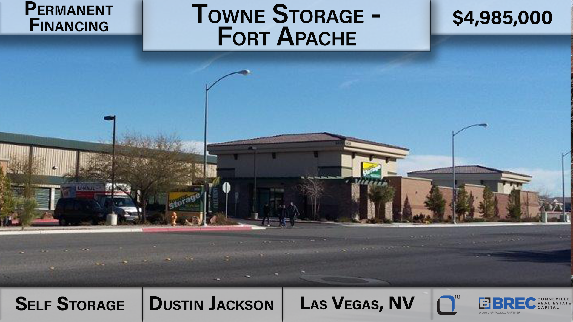 Dustin Jackson Bonneville Real Estate Capital